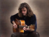 MEDIEVAL SPANISH BLUES GUITARIST CLAUDE BOURBON IN CONCERT