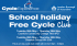 Free May Half Term School holiday Cycle Club in Cranford