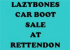 Lazybones Bootsale (Saturday)