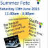 Field Farm House Summer Fete