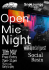 Snobar Presents: Open Mic Night