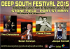 Deep South Music Festival Sat 4th & Sun 5th July 2015