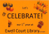 Celebrate at Ewell Court Library 1st Year as volunteer run #ewell @ewellcourtlib