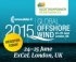 RenewableUK Global Offshore Wind 2015