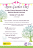 Open Garden Day in aid of Cancer Research UK & the National Gardens Scheme