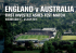 England VS Australia 2015 Ashes