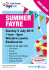 Age UK East Sussex Summer Fayre