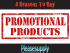 4 Reasons You Should Use Promotional Products