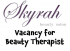 Full Time Beauty Therapist Required at @SkyrahBeauty in #Epsom #beautyjobs