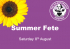 The Shakespeare Hospice Summer Fete