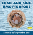 Come and Sing HMS Pinafore