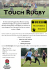 Touch Rugby At Nobles Park For All The Family