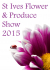 St Ives Produce and Flower Show