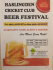 Haslingden Cricket Club Beer Festival