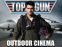 Top Gun Outdoor Cinema experience