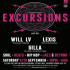 First Word Records presents Excursions with Will LV, Lexis & Gilla