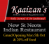 New St Neots Indian Restaurant Grand Opening Monday 5th Oct 2015  & 20% off food..