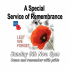A Special Service of Remembrance
