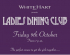Ladies Dining Club - at the White Hart