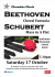 Beethoven and Schubert!