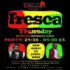 Kizomba Dance Classes & Party - Fresca Thursdays with DJ Bangolano 8th Oct