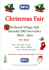 RSPCA Charity Christmas Fair 2015!