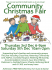 Annual Community Christmas Fair