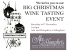 Christmas Wine Tasting in Collingham