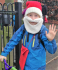 Santa Sighted arriving at Prestwood Junior School