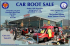 Car Boot Sale for SuperJosh