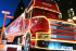 Arrival of the Christmas Coca Cola Truck