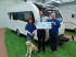 Shrewsbury caravan dealership and customers give Guide Dogs an £800 boost