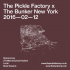 The Pickle Factory x The Bunker New York