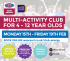 February Half Term Holiday Club - Club Energy