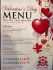 Valentine's Night at The Kings Arms Sutton Coldfield