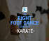 Karate classes with The Right Foot Dance Co