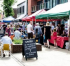 The Farmers' Market in Sale