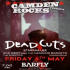 Camden Rocks presents Deadcuts and more live at Camden Barfly