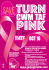 Giving to Pink Community Fundraiser aim to turn Merthyr and RCT pink for the day!