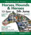 Horses, Hounds and Heroes Charity Event