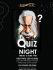 Quiz Night at Balance Health Club.