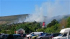Fire Services Attend Large Fire In Laxey