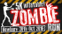 5km Zombie Run – with Inflatable Obstacles
