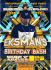 BREAKIN SCIENCE & OVERLOAD PRESENT MC EKSMAN'S BIRTHDAY BASH