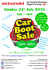 CAR BOOT SALE - ACTIONAID GUERNSEY SUPPORT GROUP