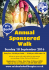 Annual Sponsored Walk