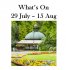 What's On 29 Jul to 15 Aug 2016 in and around Harrogate