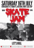 Skate Jam and Mary Exton's 40th Anniversary this weekend