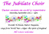 Jubilate Choir Taster Session for 2016/17 repertoire