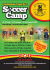 Carmarthen Town AFC Soccer Camp